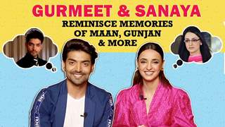 Gurmeet Chaudhary & Sanaya Irani's Memory Of Facing The Camera For The First Time