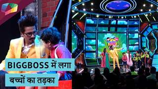 Bharti, Harsh, Gurmeet, Sanaya, Arjun और Jasmin संग बच्चों ने किया धमाल | Bigg boss १३