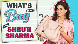 What's In My Bag With Shruti Sharma | Bag Secrets Revealed | Gathbandhan