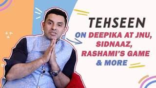Tehseen Poonawalla Talks About Deepika At JNU, Sidnaaz, Rashami's Game & More | Bigg Boss