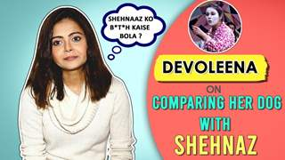 Devoleena Reacts To Her Comment On Shehnaz's Comparison With Her Dog | Bigg Boss 13