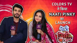 Colors Tv ने किया Naati Pinky का launch | India Forums Hindi