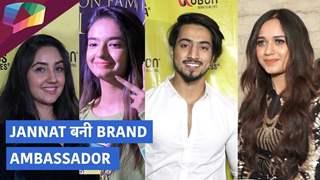 Jannat बनी Brand Ambassador   Friends & Family ने दी बधाई