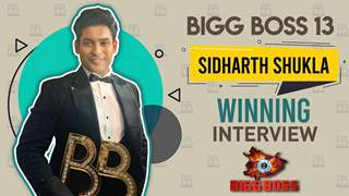 Sidharth Shukla का Winning Interview | Bigg Boss 13
