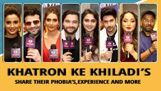 Khatron Ke Khiladi's On Their Phobia's, Experiences & More | Colors tv