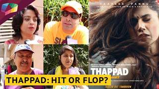 Thappad: Hit Or Flop | Public  Review | Tapsee Pannu