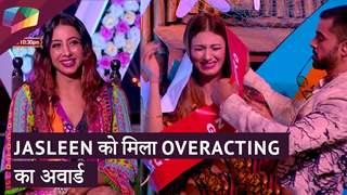 Jasleen को मिला Overacting का अवार्ड   Mujhse Shaadi Karoge Updates