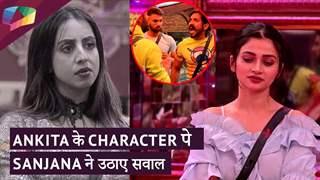 Ankita के Character पे Sanjana ने उठाए सवाल   Mayur और Sanjana का झगड़ा   Mujhse Shaadi Karoge