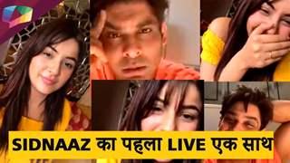 Sidnaaz का पहला LIVE   Bhula Dunga के shoot के राज़?