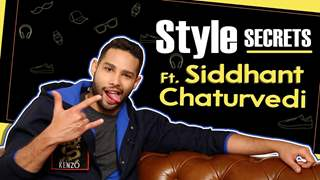 Siddhant Chaturvedi Shares His Style Secrets, Choices & More
