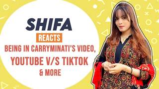 Shifa Memon Reacts On Being In Carryminati's Video, Youtube V/S Tiktok Controversy & More