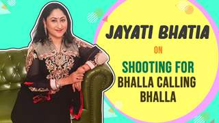 Jayati Bhatia Shares Shooting From Home Experience & BTS | Bhalla Calling Bhalla