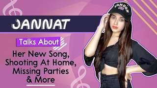 Jannat Zubair Rahmani On Shooting At Home, Trending On YouTube, Missing Parties   Hey Girl