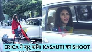 Erica Fernandes ने शुरू किया Kasauti Zindagi Kay का शूट | Star Plus