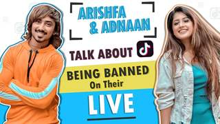 Arishfa & Adnaan Talk About Tik Tok Being Banned On Their Instagram Live