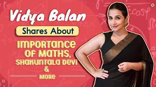 Vidya Balan Shares About Importance Of Maths, Shakuntala Devi & More