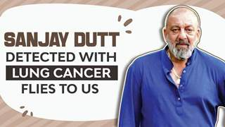 Sanjay Dutt Detected With Lung Cancer | Flies To US | Details Inside