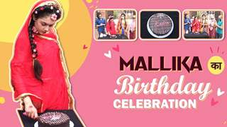 Mallika Singh का Birthday celebration   Radha Krishn