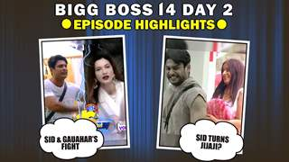Bigg Boss 14 Day 2: Episode Highlights | Sidharth & Gauahar Fight & More
