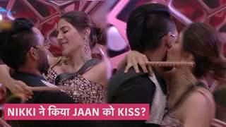 Nikki ने की Jaan के गालों पे kiss | Bigg Boss 14 Update