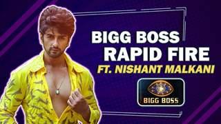 Bigg Boss Rapid Fire Ft. Nishant Malkani | Bigg Boss 14