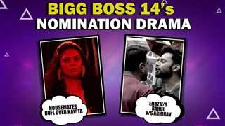 Bigg Boss 14's Nomination Drama | Eijaz V/S Rahul V/S Abhinav | Pavitra & Jasmin's Fight