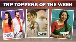 TRP Toppers Of The Week | Anupamaa, Kundali Bhagya, New Entry??
