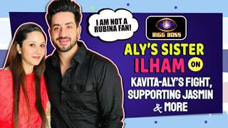 Aly Goni's Sister Ilham On His Fight With Kavita, Supporting Jasmin, Not A Rubina Fan | BB14