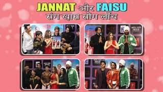 Jannat और Faisu का special song launch   Marda Saara India
