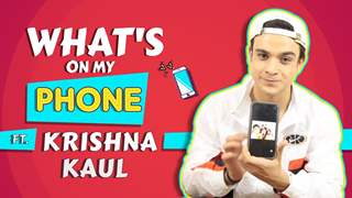 What's On My Phone Ft. Krishna Kaul | Phone Secrets Revealed