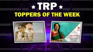 Television's TRP Toppers Of The Week | Anupamaa, Imli & More