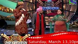 Comedy Circus Mahasangram, Saturday 13 March only on Sony