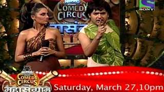 Comedy Circus Mahasangram, Saturday 27 March only on Sony