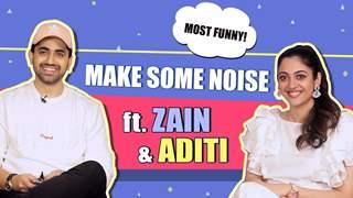 Make Some Noise Ft. Zain Imam & Aditi Sharma   India Forums