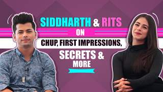 Siddharth Nigam & Rits Badiani On First Impressions, Chemistry & More.