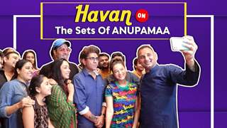 Havan & Pooja On The Sets Of Anupamaa | Star Plus
