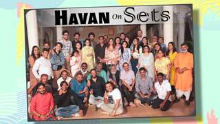 Havan On The Sets Of Mann Kee Awaaz Pratigya 2
