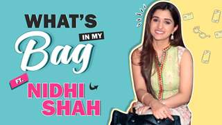 What's In My Bag Ft. Nidhi Shah | Anupamaa | India Forums