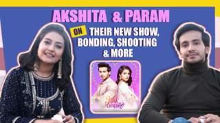 Param Singh & Akshita Mudgal On Ishk Par Zor Nahi | Sony tv