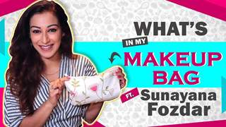 What's In My Makeup Bag Ft. Sunayana Fozdar | Makeup Essentials | India Forums
