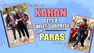 Karan Kundra Receives A Sweet Surprise From Paras Kalnawat