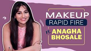 MakeUp Rapid Fire FT. ANAGHA BHOSALE   Anupamaa   india forums