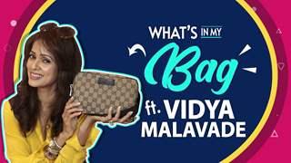 What's In My Bag Ft. Vidya Malavade   Bag Secrets Revealed