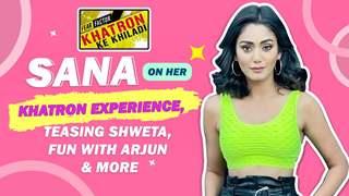 Sana Makbul On Bonding With Arjun & Anushka   Teasing Shweta & More