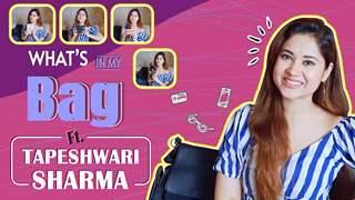 What's In My Bag Ft. Tapeshwari Sharma | Bag Secrets Revealed