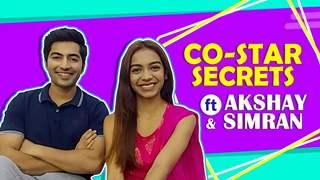 Co-Star Secrets Ft. Akshay Kharodia And Simran Budharup | Pandya Store