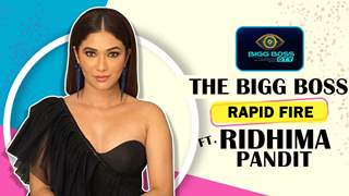 The Bigg Boss Rapid Fire Ft. Ridhima Pandit   India Forums