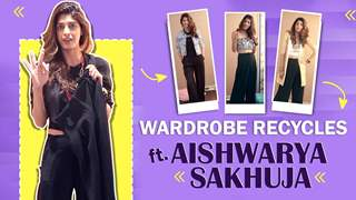 Wardrobe Recycles Ft. Aishwarya Sakhuja   Black Trousers In 3 Ways   India Forums