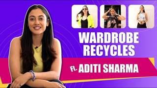 Wardrobe Recycles Ft. Aditi Sharma | Styling tips | Black Dress Hacks