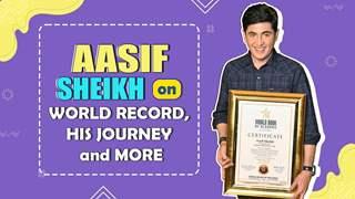 Aasif Sheikh On His World Record, His Journey & More   Bhabhiji Ghar Par Hai